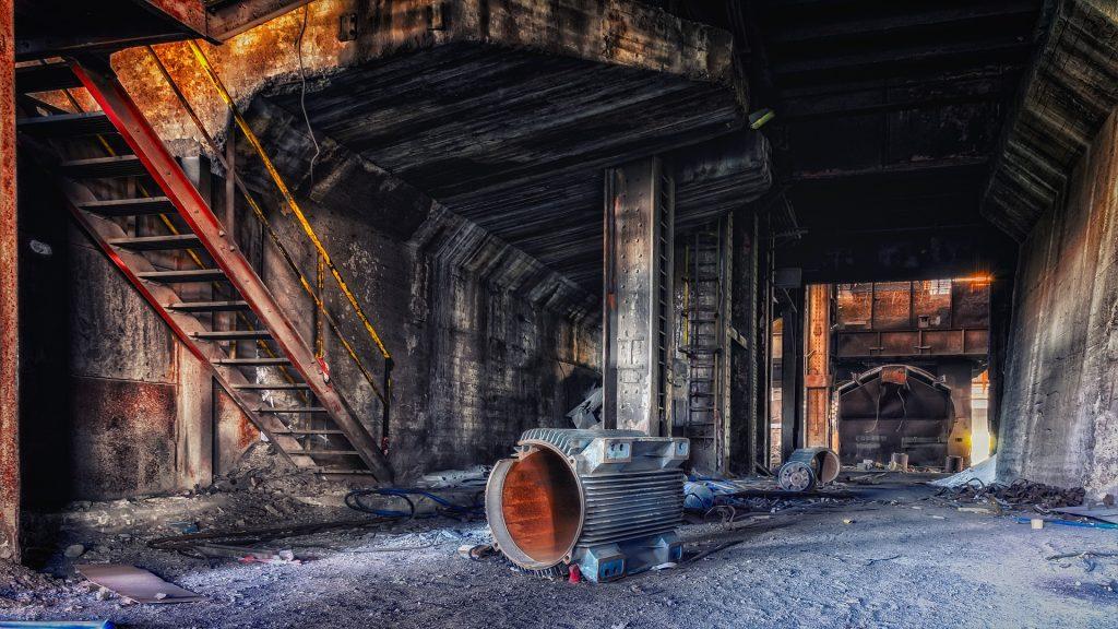 Site industriel abandonné