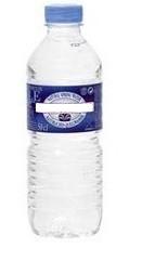 Bouteille d'eau plastique