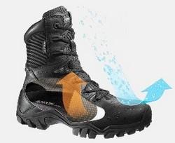 Les composés perfluorés permettent de rendre les chaussures imperméables