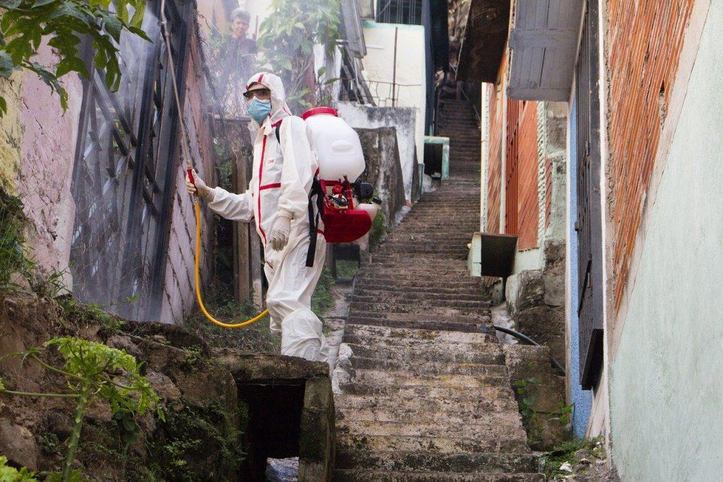 L'usage massif de désinfectants