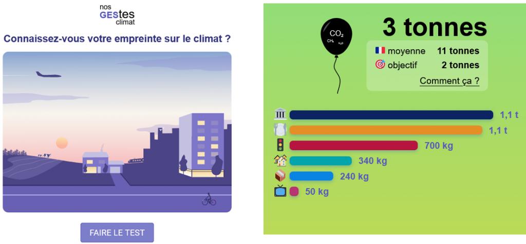 Réduire mon empreinte carbone - nos gestes climat